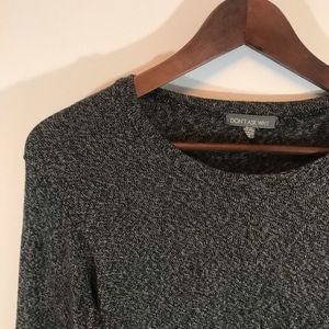 Don't Ask Why Dark Grey Long Sleeve Top